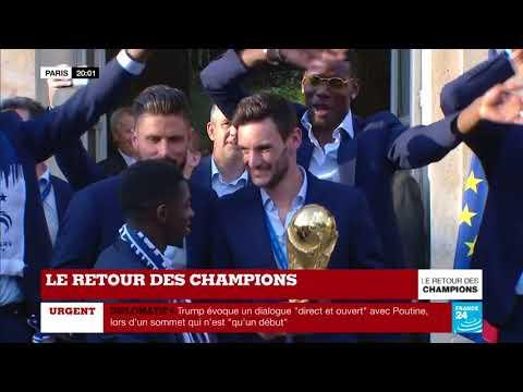 WE ARE THE CHAMPIONS - La France est championne du monde de football