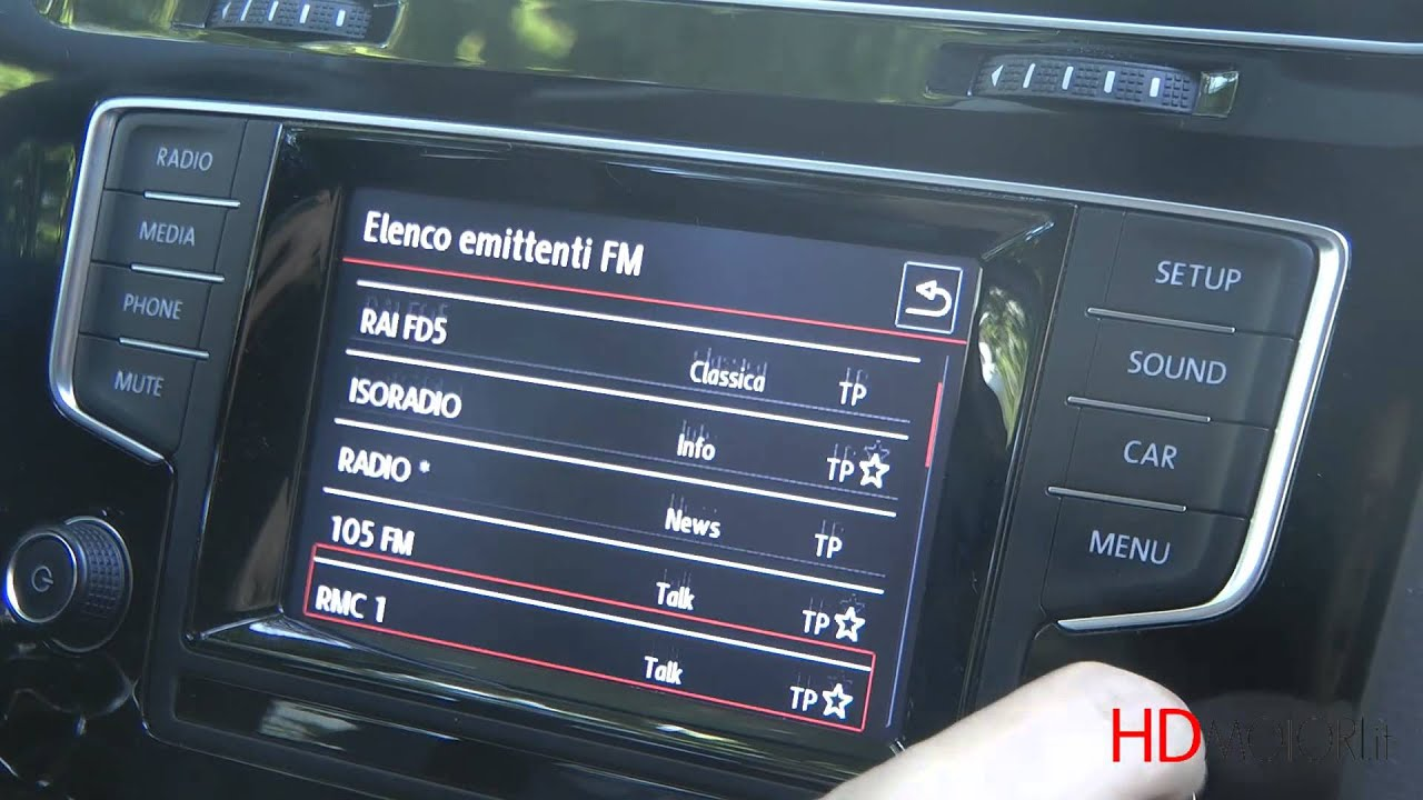 volkswagen golf vii infotainment discover media test youtube