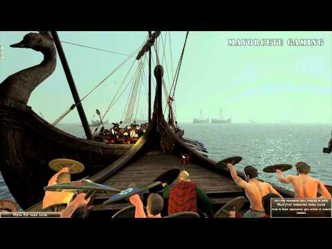 """JUGANDO Rome 2 Total War - """"Bárbaros a la Mar en 4 VS 4"""""""