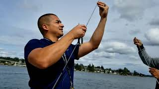 Fishing with my family