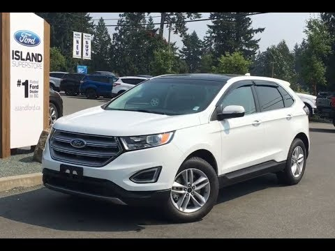 2017 Ford Edge SEL Technology Cold Weather Canadian Touring EcoBoost AWD Review|Island For