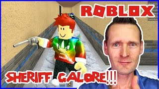 Real Roblox Anthem + Being the Murderer and Sheriff Galore!