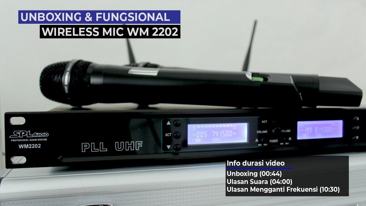 Review Mic Wireless SPL Audio WM2202