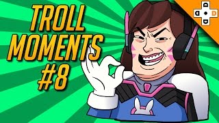 Overwatch Troll Moments & Ragers #8 - Highlights Montage