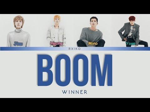 WINNER (위너) - 'BOOM' Lyrics Han | Rom | Eng