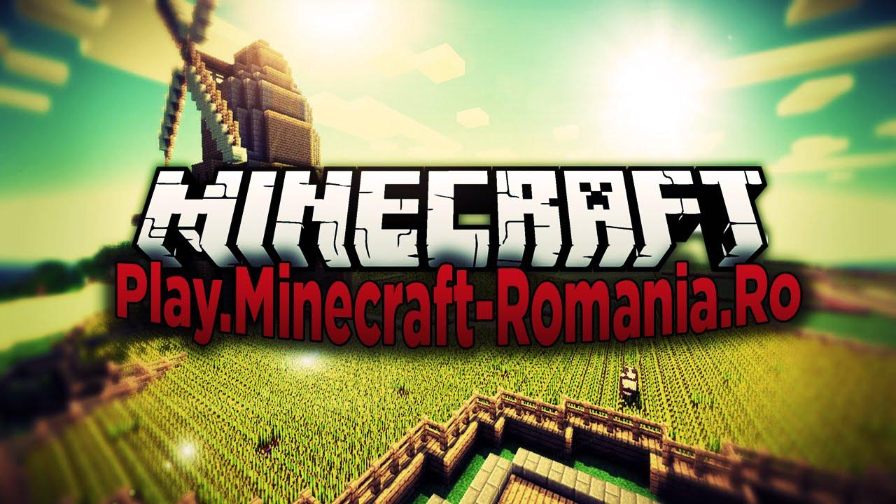 Play Minecraft Romania Ro Survival Games Creative Skyblock si
