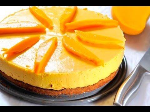 Pastel helado de mango mango ice cream cake youtube - Blog de postres faciles ...
