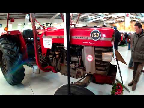 1974 Massey Ferguson 168 3.9 Litre 4-Cyl Diesel Tractor (69HP) With Spreader