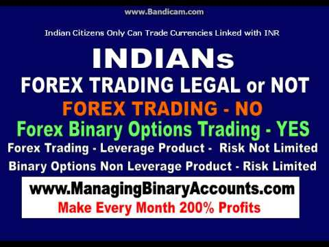 Online forex trade in india