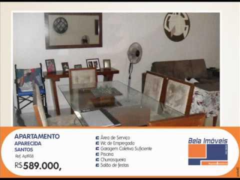 Apartamento em Santos  residencial à venda, Aparecida, Santos.