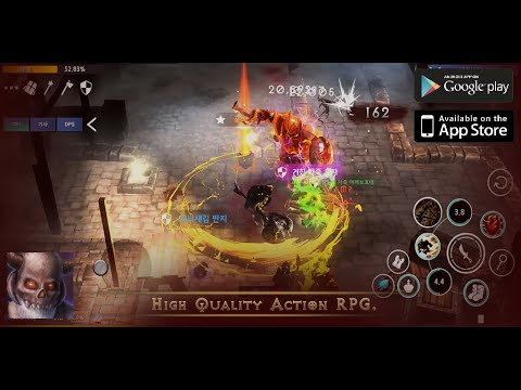 Dungeon and Evil Gameplay (Early Access) [Android/IOS] - Hack and Slash Action RPG!!