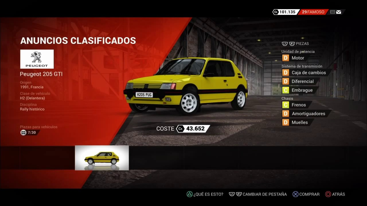 dirt 4 car list youtube. Black Bedroom Furniture Sets. Home Design Ideas