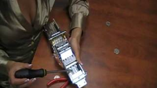 Rasha from allstarvending.com converts a coin mech from 50 cents to 75 cents
