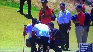 Jason Day putts out after vertigo scare 2015 U.S. Open, collapses