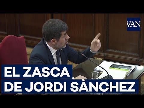 El zasca de Jordi Sànchez al fiscal a cuenta de los watsaps a Marchena
