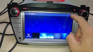 Android 8.0 OS CAR DVD PLAYER FOR HYUNDAI IX35(2009-2014)