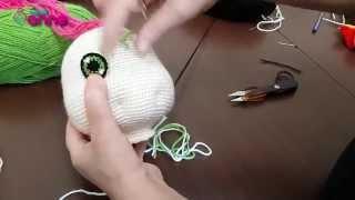 Bebek Göz Yapılışı Örgü Oyuncak Amigurumi , Canım Anne