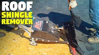 Roof Shingle Remover Machine