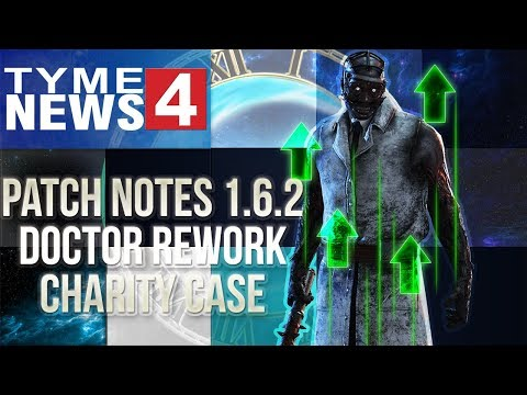 Patch Notes 1.6.2 Doctor Rework, Charity Case - Dead by Daylight - Killer #156 Doctor