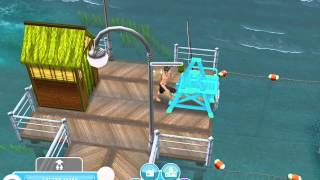 Surfing, Belly Flopping, And The Surf Van- Sims Freeplay