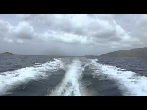 2012 Power Boating in the British Virgin Islands