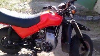 Работа двигателя мотоцикла Тула(Завел Тулу,снял не большое видео), 2016-04-25T17:51:10.000Z)