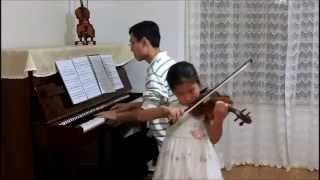 Seitz Violin Concerto No.3 Op.12 in G Minor Movement 1 (Mingming at 6; 1 Year 7 Months of Study)