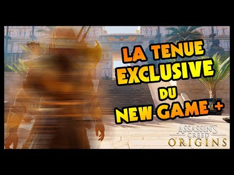 LA TENUE EXCLUSIVE DU MODE NEW GAME + (Assassin's Creed Origins)