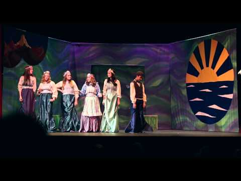 Missoula Children's Theatre - The Little Mermaid - Moscow, Idaho - 2015