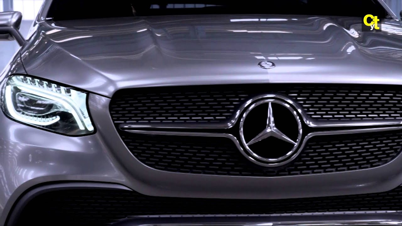 mercedes benz concept coupe suv youtube - Mercedes Benz Concept Coup Suv