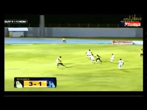 Honduras 1  Guayana 3  (repechaje Copa de Oro 2015)