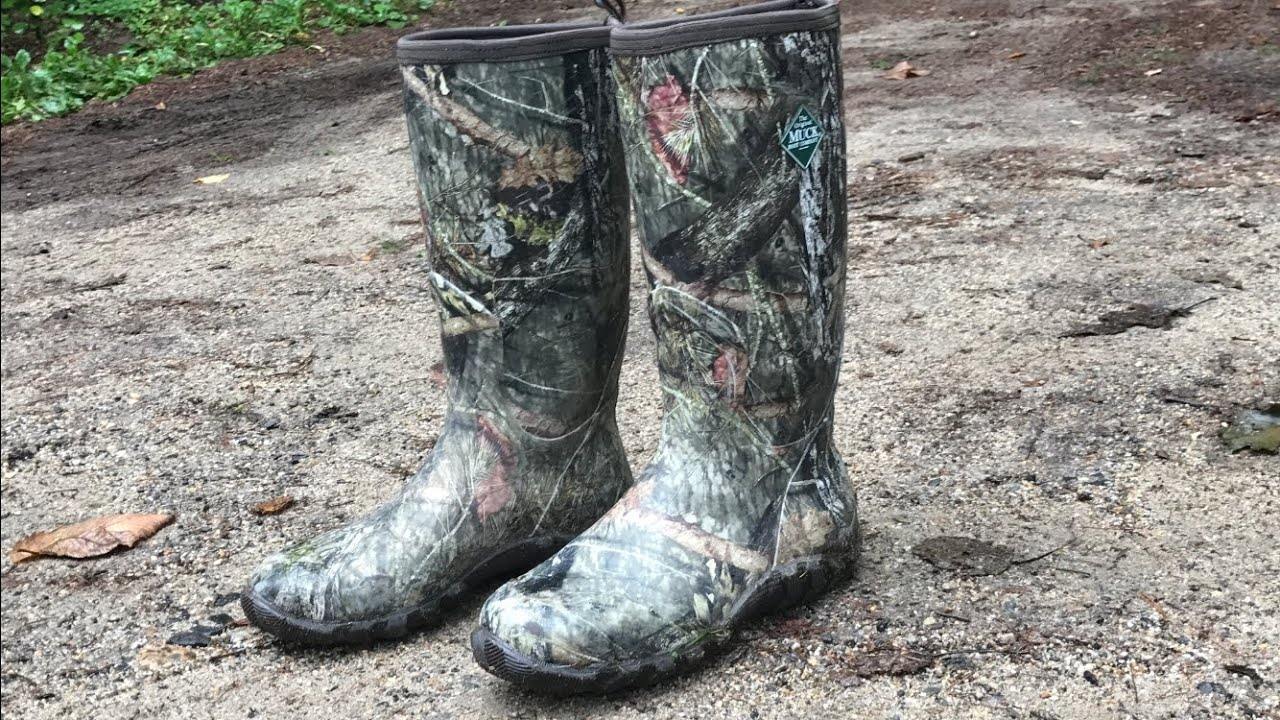 3 MONTH BOOT TEST! MUCK Woody Blaze Cool Snake Boot - Built for Hunting,  Swamp Romping, and More