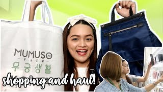 MUMUSO Shopping + Haul! (Super CUTE and AFFORDABLE Items) Philippines | Monica Garcia ♡