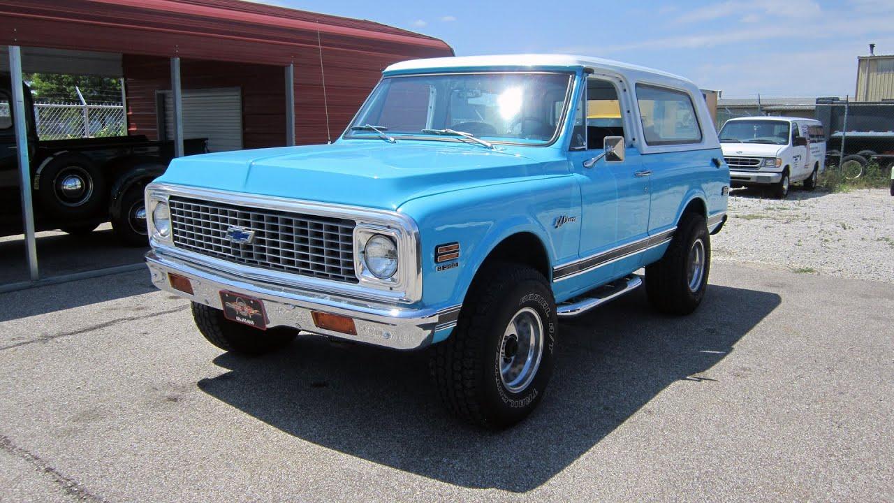 1971 Chevrolet K5 Blazer CST 4 Speed | Full Tour & Start ...