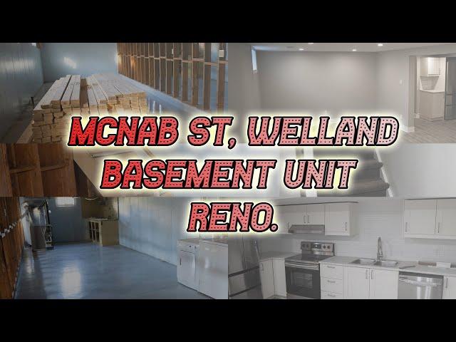 McNab St Welland , Basement Unit Reno