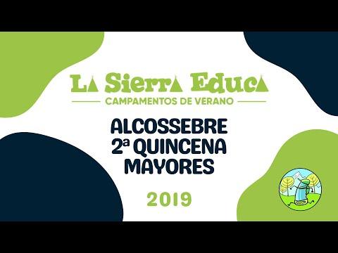 Alcossebre 2019 Segunda Quincena Julio Campamento De