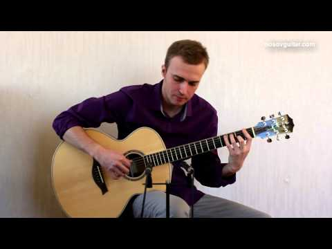 joe cocker - you are so beautiful ( guitar cover by Alexey Nosov )