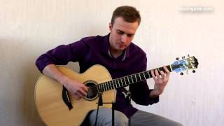 joe cocker - you are so beautiful ( guitar cover by Alexey Nosov )