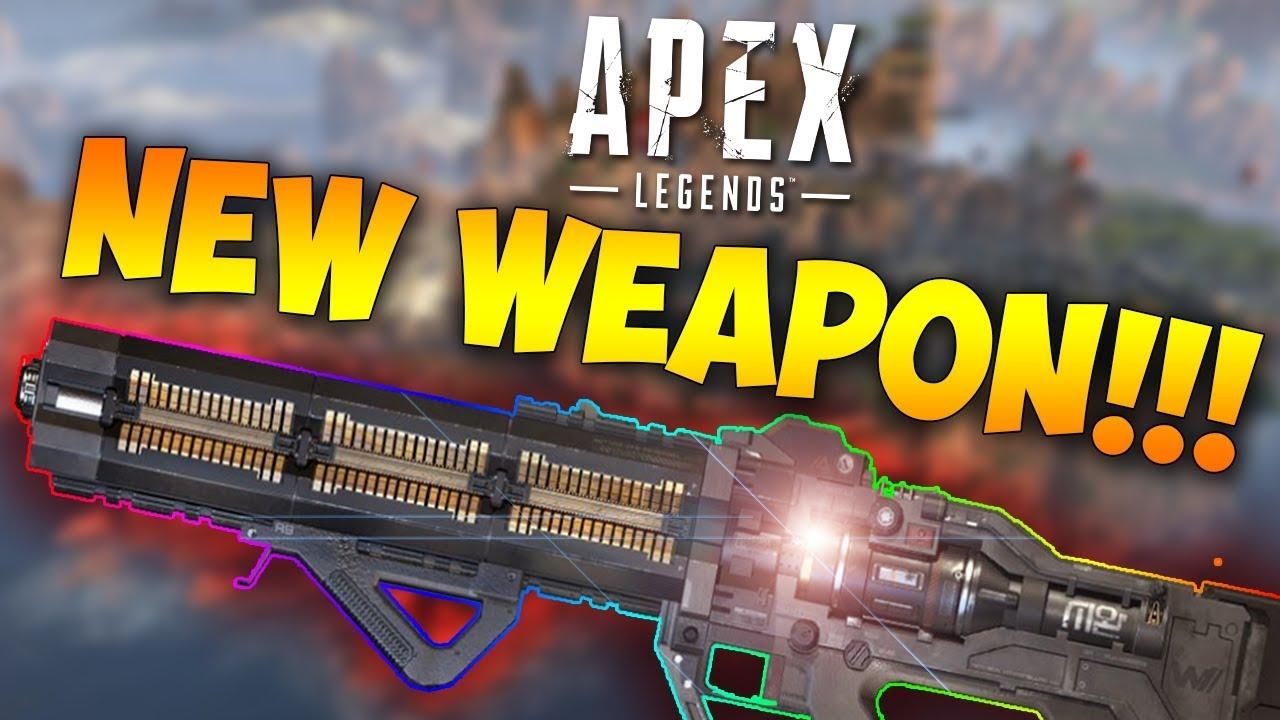 Apex Legends New Gun Apex Legends Havoc Energy Rifle