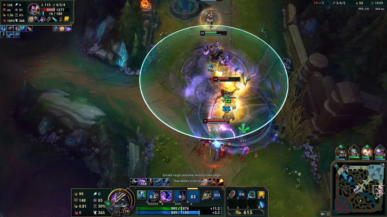 Try Nasus and the end