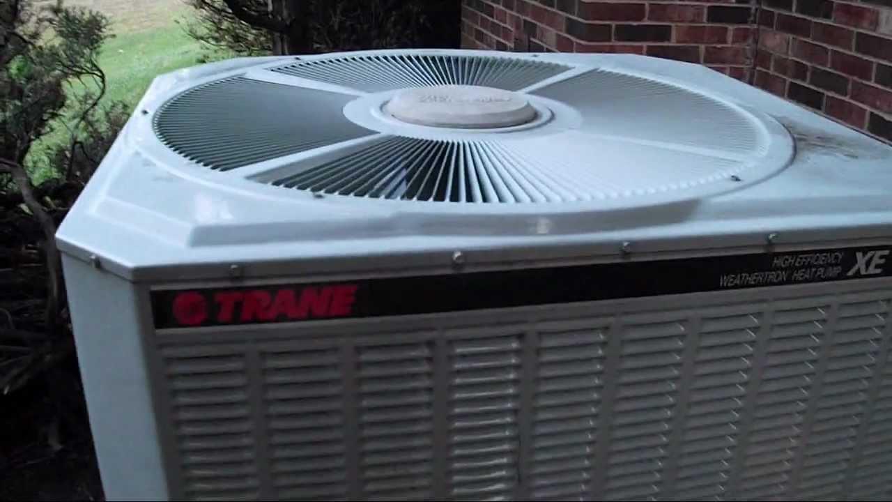 Trane Xe Weathertron 5 Ton Heat Pump Startup