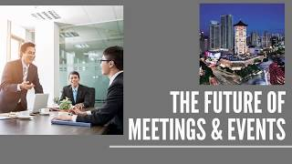 The Future of Meetings & Events at Singapore Marriott Tang Plaza Hotel