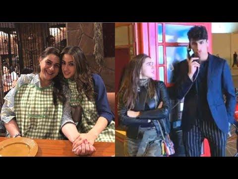 Sara Ali Khan ENJOYS With Brother Ibrahim & Mom Amrita Singh On Vacation In London INSIDE Video Mp3