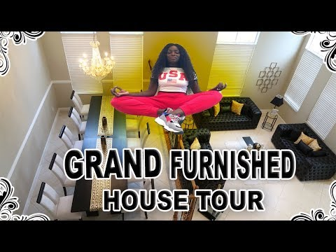Grand Furnished House Tour You Wont Believe How Much $$$