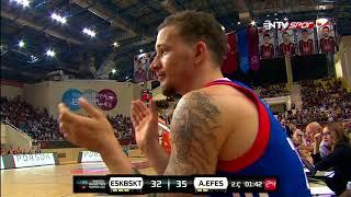 Basketbol Süper Ligi 3. Hafta: Eskişehir Basket - Anadolu Efes