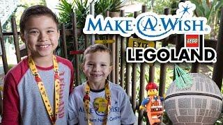 Make-A-Wish at LEGOLAND! Behind-the-Scenes!