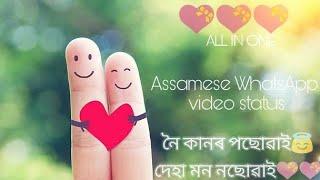 Noi kanor posuai deha mon no suai💝|| Assamese song|| WhatsApp video status ||by all in one☺