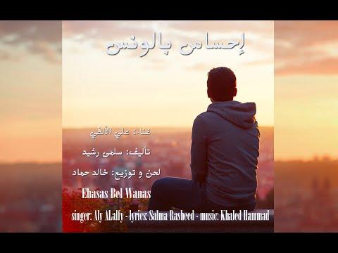 إحساس بالونس - غناء علي الألفي - تأليف سلمى رشيد - لحن و توزيع خالد حماد