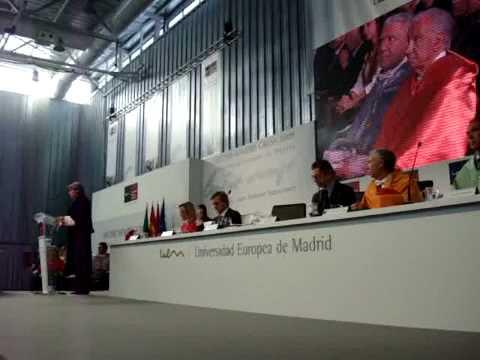 UEM- D Juan Antonio Samaranch, Doctor Honoris Causa de la UEM