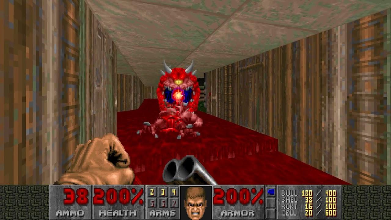 Doom WADs #74 - Toxic Plant